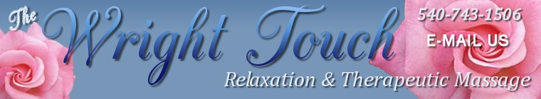 The Wright Touch: Relaxation & Therapeutic Massage in Page County, Virginia and nearby locations
